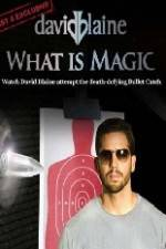 Watch David Blaine What Is Magic Online Projectfreetv