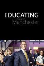 educating greater manchester tv poster