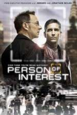 person of interest tv poster